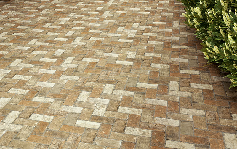 Latino Ceramic Whitney point brick tile