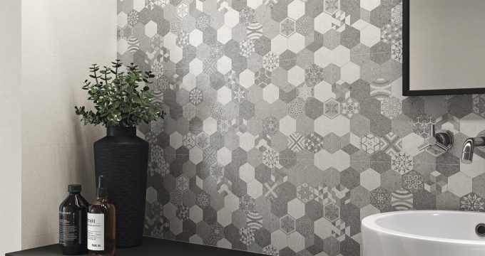 Attivo tiles at Latino Ceramics in Guiseley